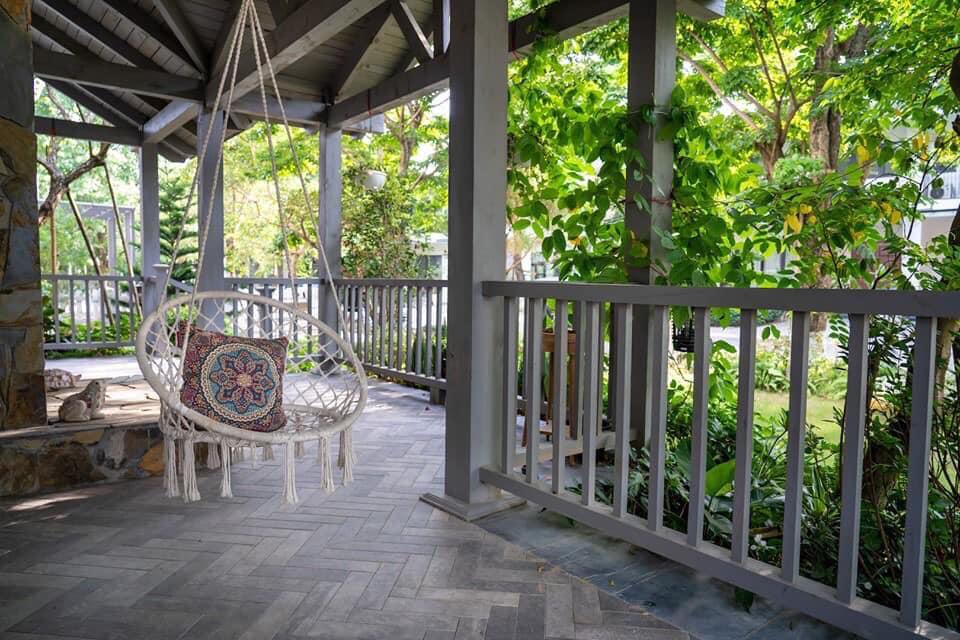 Biệt thự nhà vườn Mỹ - Park River Ecopark