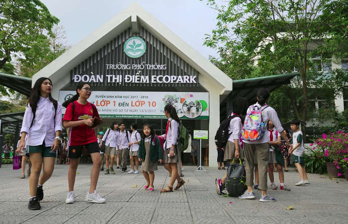 Tiện ích Rừng Cọ Ecopark - Giáo dục