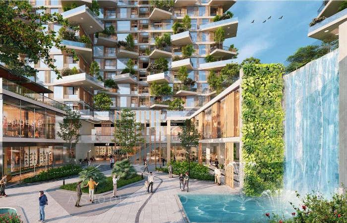 Tiện ích Sol Forest Ecopark - Quảng trường resort