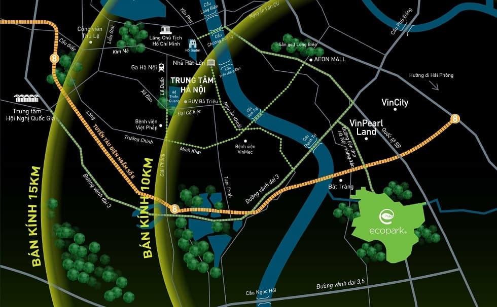 Ecopark Hà Nội ở đâu