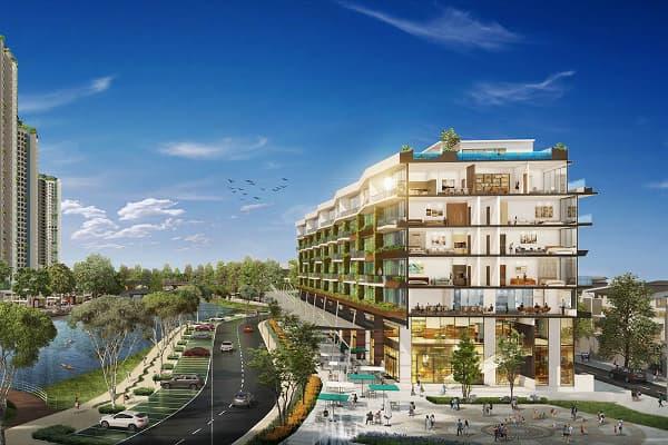 Giá nhà phố liền kề Ecopark